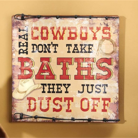 Cowboy Don't Take Baths