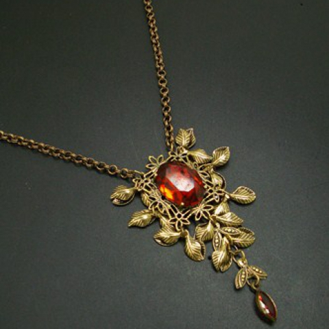 Fall Beauty Necklace