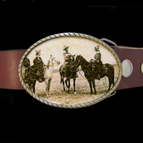 Old West Belt- Girls on the Range