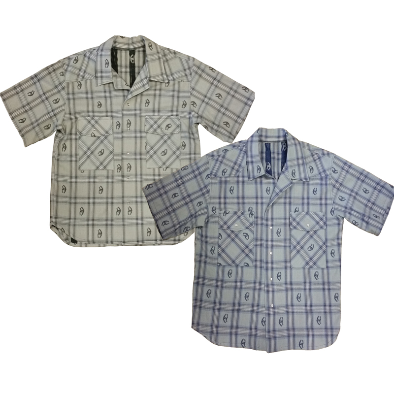 Men's Short Sleeve Western Shirt