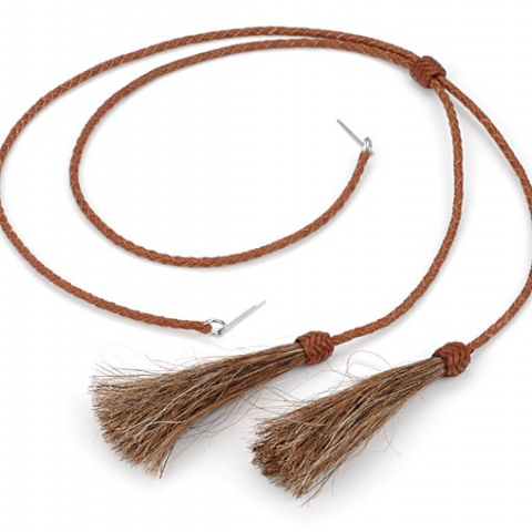 Leather Stampede String