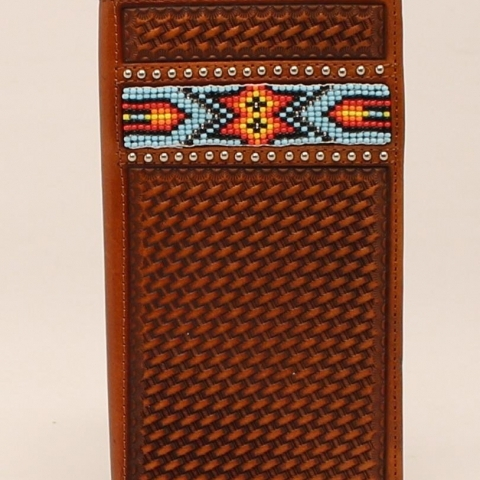 Men's Beaded Wallet
