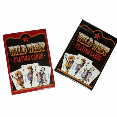 Old West Playing Cards