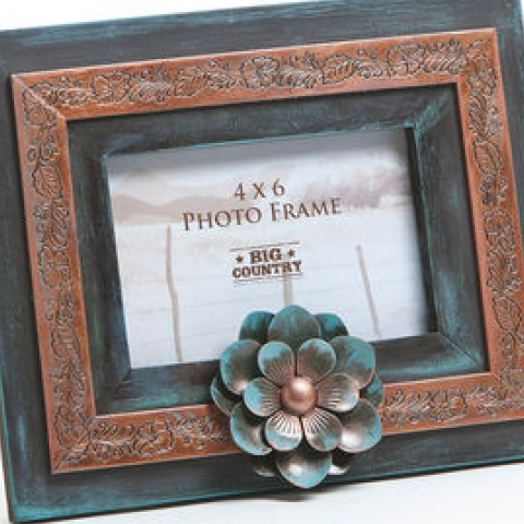 Western Style Picture Frame Cattle Kate