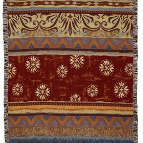 Tapestry Throw Santa Fe