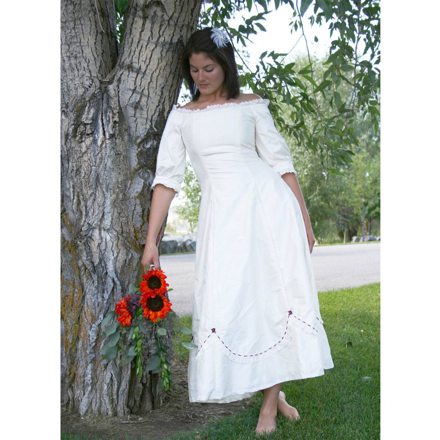 Prairie Dancer Wedding Dress Cattle Kate