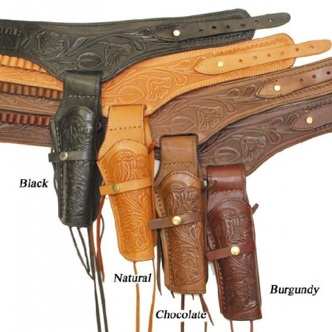 Single Gun Belt w/ Holster