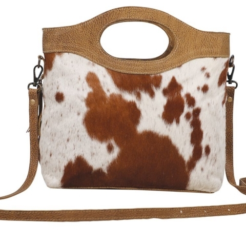 Cowhide Western Purse