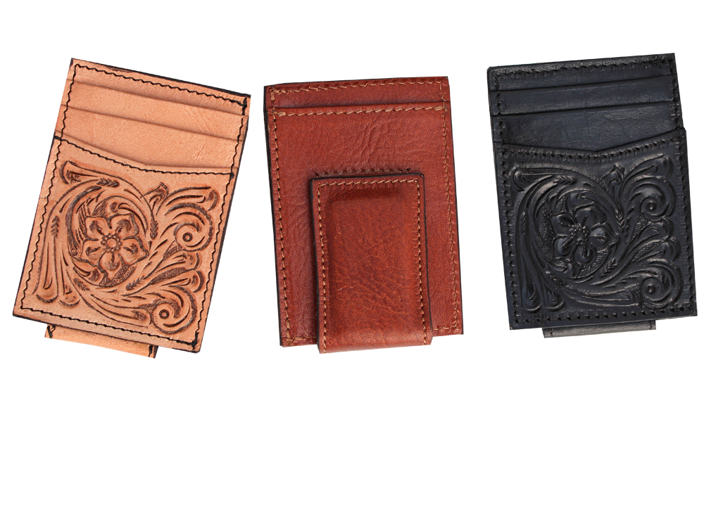 MENS TOOLED WALLET