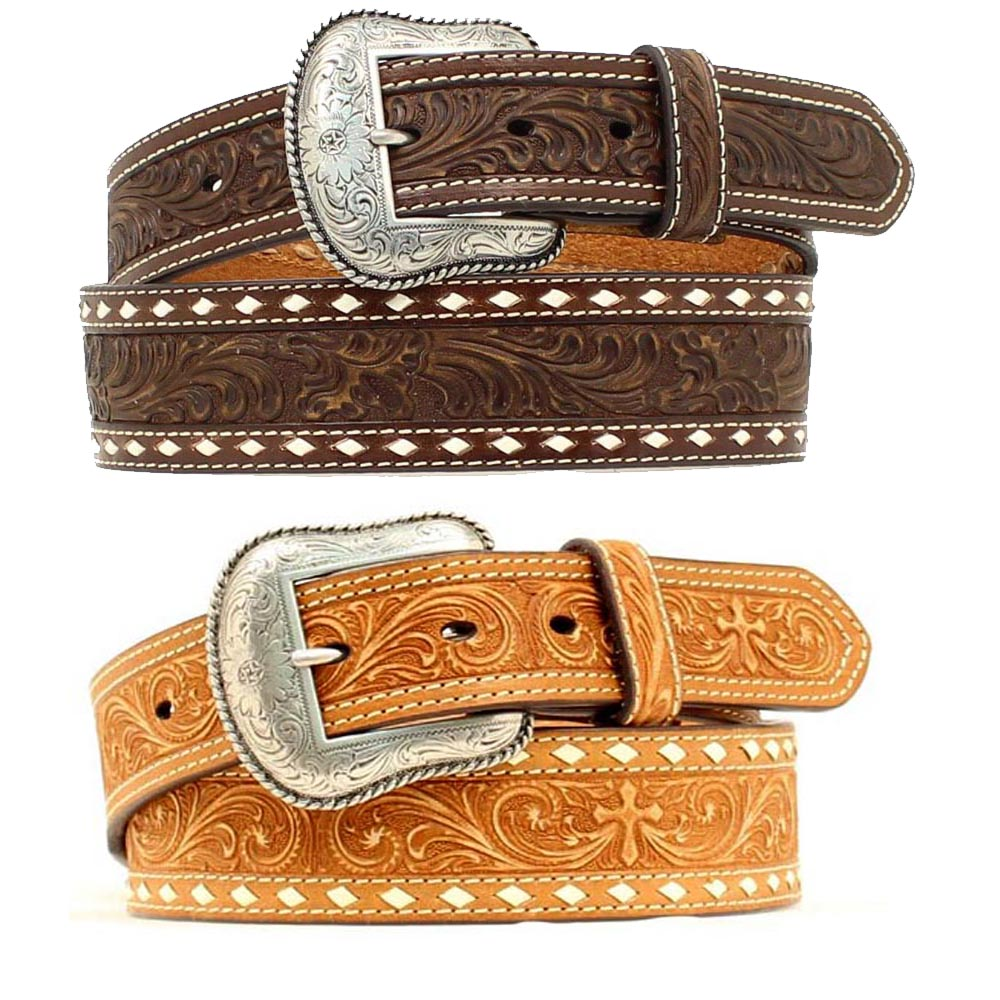 MENS WIDE WESTERN BELT