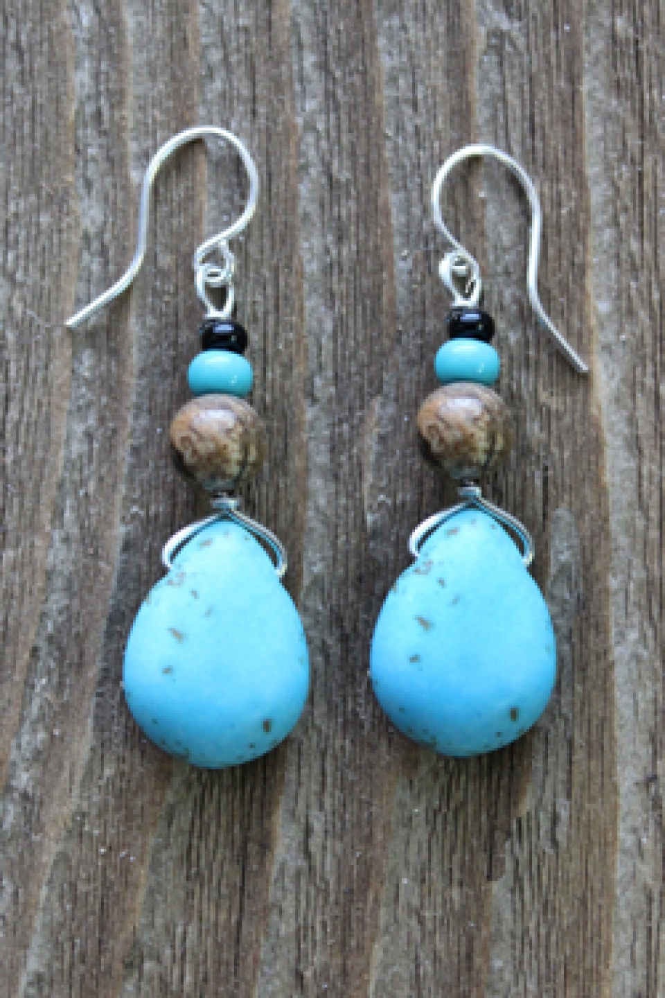 earrings the image meditation azure essentials handcrafted products