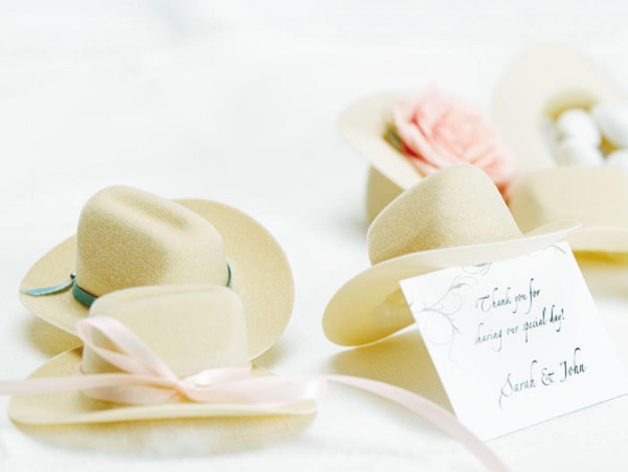 Cowboy Hat Favors - Cattle Kate