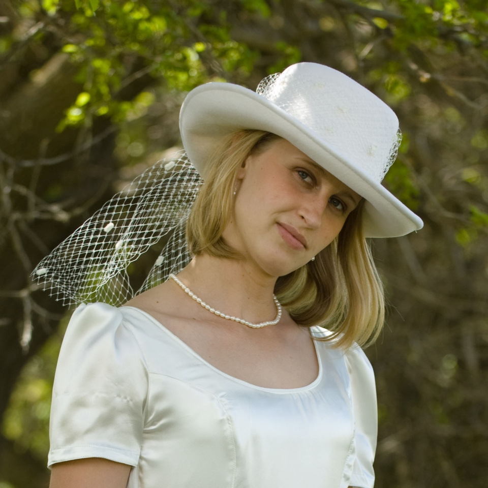09a1a9cc2 Cowgirl Wedding Hat - Cattle Kate
