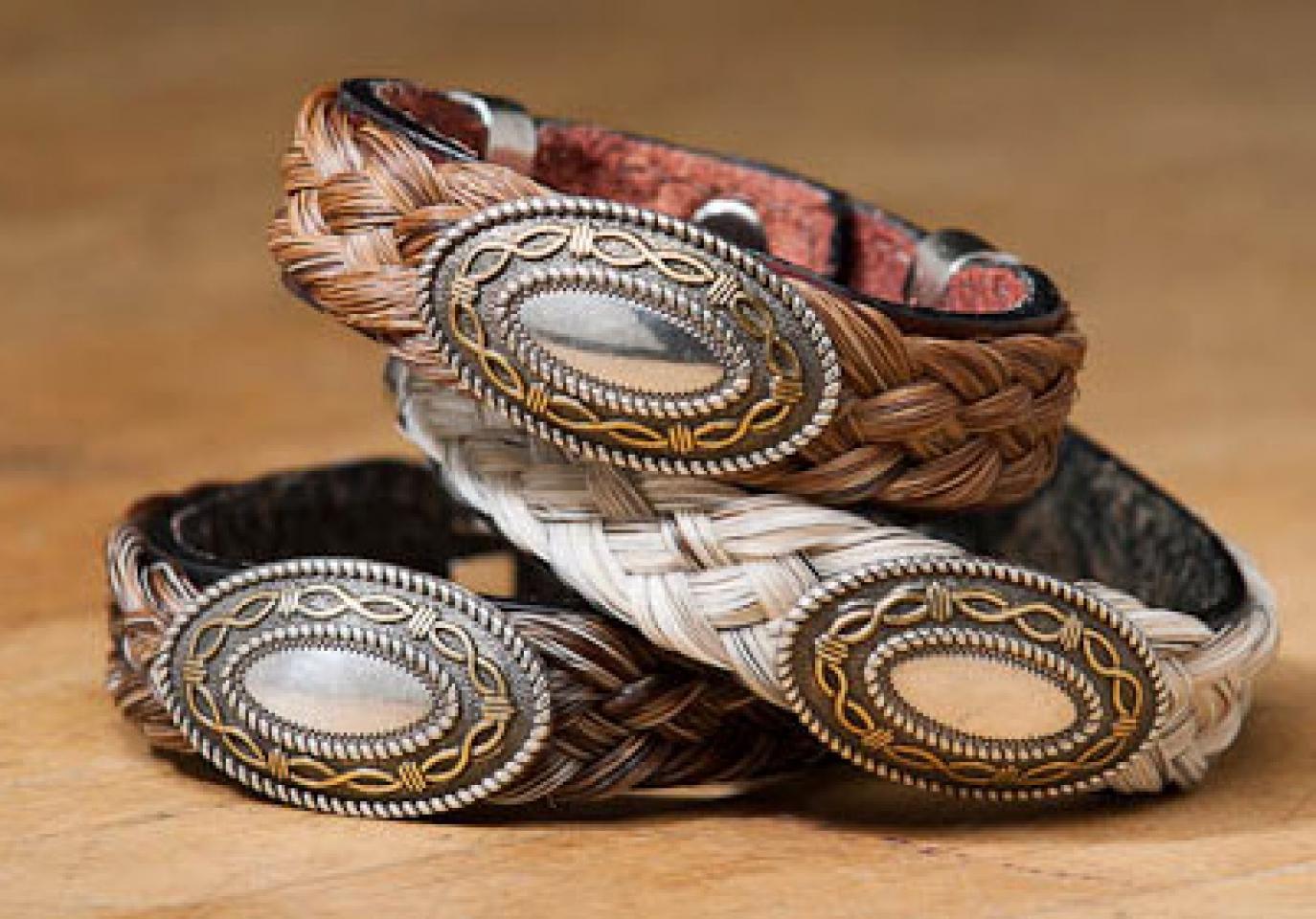 Men S Western Concho Bracelet Cattle Kate