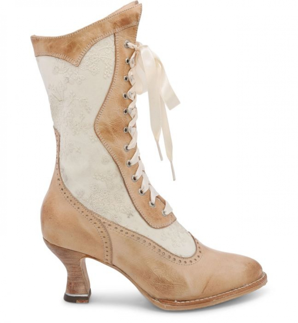 Vintage Lace-up Boots - Cattle Kate
