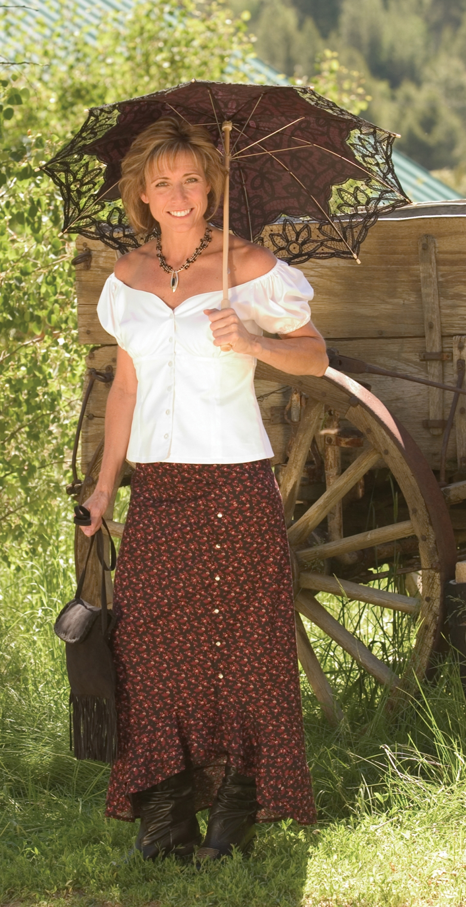 Desert Boot Skirt Cattle Kate
